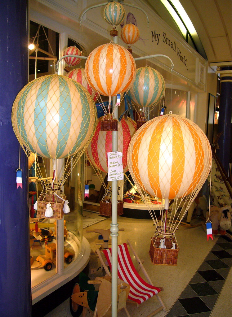 Toy Hot Air Balloons