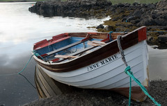 Anne Marie (tanera) Tags: blue red skye beach water scotland boat abandon anywhere lochbracadale abigfave wwwtaneracouk httptaneracouk