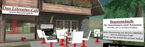 Literaturcafé in Second Life
