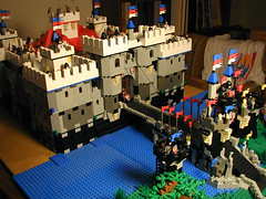 Halcyon Castle version 1 (SavaTheAggie) Tags: castle lego knights keep drawb
