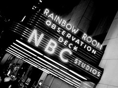 NBC Studios (Natasja ) Tags: new york city travel vacation blackandwhite bw usa white ny newyork black television america canon nbc manhattan canong3 metropool nbcstudios observationdeck thebigapple nbcrainbowroom