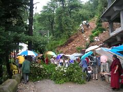 mudflows and landslides (jannypai's pp) Tags: dharamsala ganj mcleod
