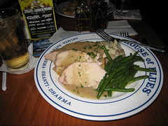 House of Blues Southern Turkey Dinner