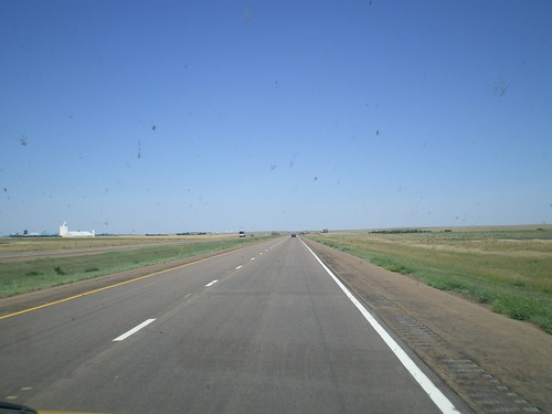 The road through Kansas