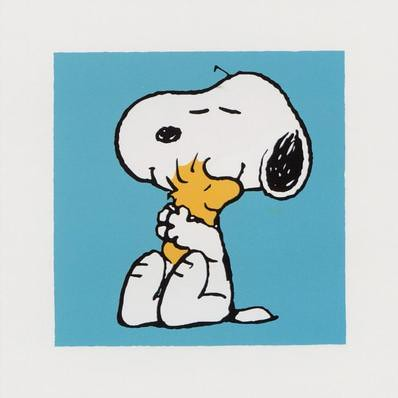 My favorite Snoopy pic - and one of my tattoos.