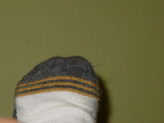 foot (happybelly23) Tags: wall foot 1 sock day 365 1365