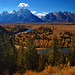 Autumnal Grand Teton Snake River Overlook - by Fort Photo
