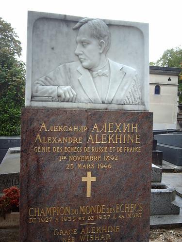 Alexander Alekhine - Champion du Monde des Echecs