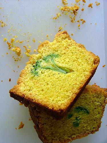 Broccoli cake!