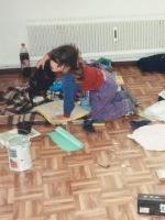 Einzug 1990