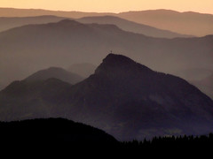 Sunset over the France Alps (Bn) Tags: travel sunset vacation holiday france mountains alps flower topf25 beauty landscape topf50 flora bravo vivid layer frankrijk thealps alpen flaine holycross themoulinrouge avondrood supershot grandmassif abigfave impressedbeauty aplusphoto holidaysvacanzeurlaub naturefinest wowiekazowie ishflickr ysplix theperfectphotographer