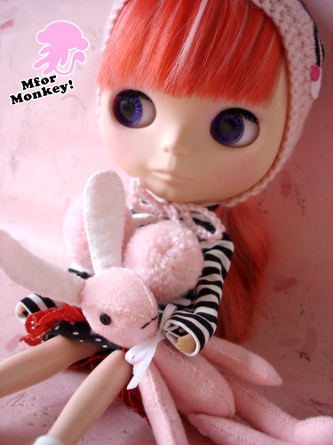 MforM ~ Hoodie and felt Bunny Set