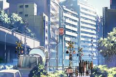 踏み切り・新宿EP3IN