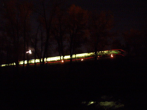 CTrain Over Fish Creek at 2400 KM