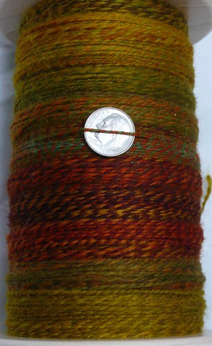 8 oz Spinners Hill Corriedale-Finn Ramboullet - Fall colors3
