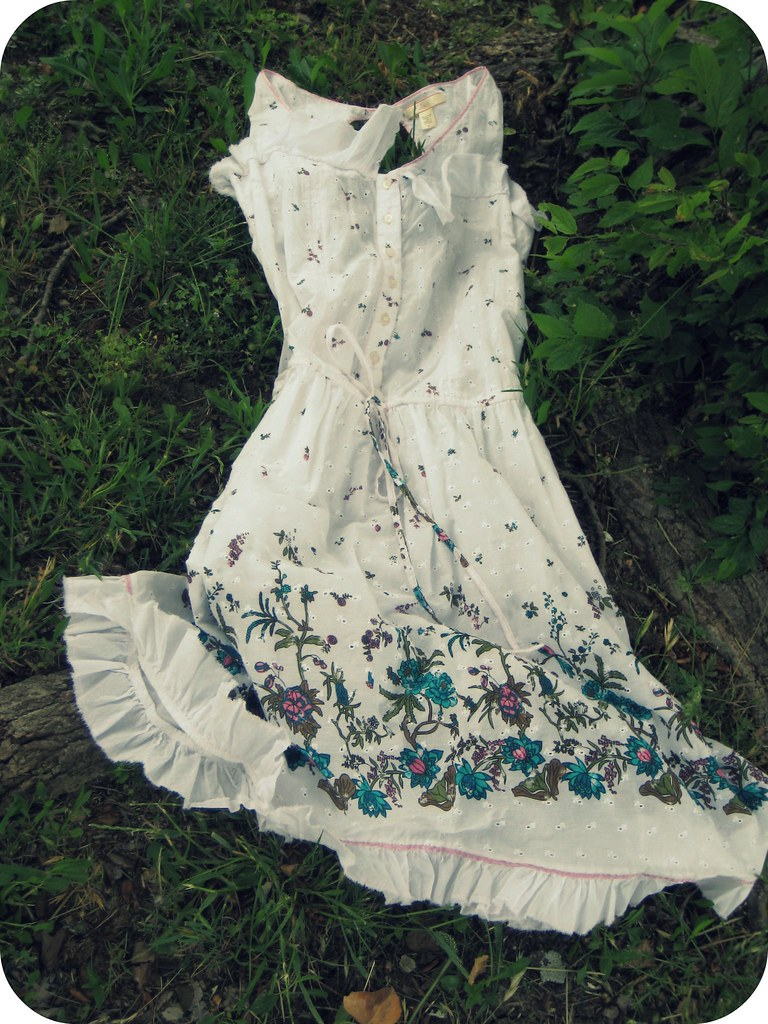 old UO Floral Dress