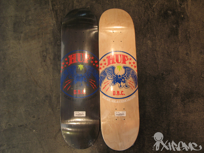 Real x HUF Skateboard