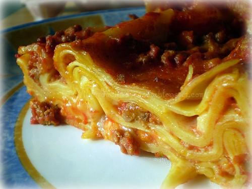 Lasagna con ragù rosso- Pasta al forno