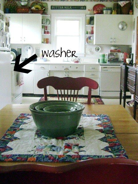 Kitchen- washer