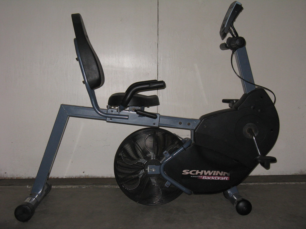 Schwinn Airdyne Backdraft Recumbant Bike