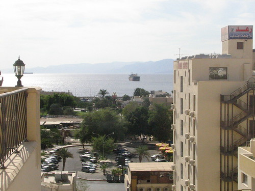 gulf of aqaba from hotel 01
