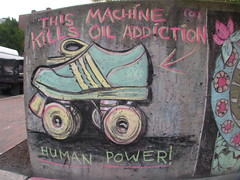 RR's This Machine Kills Oil Addiction (Dockyard Derby Dame Freedom Riders)