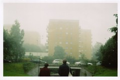 (christine karlsson) Tags: autumn film analog 35mm haze october sweden stockholm henrik anja 2010 expiredfilm smenasymbol vrberg lomosmena vievvvs