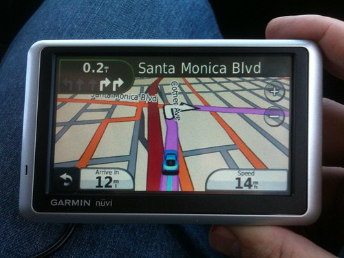 Louise, our GPS device