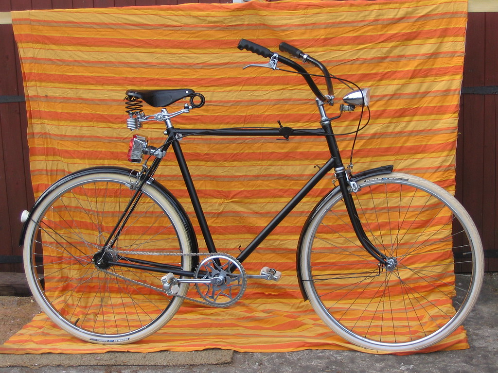 The 1952 Humber; customised bicycle