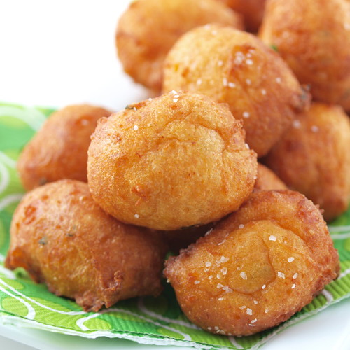 Cheddar and Chive Beignets