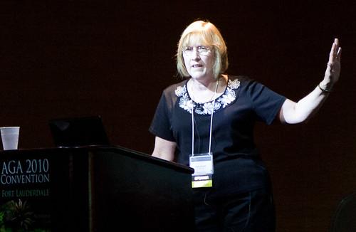 AGA 2010: Karen Randall