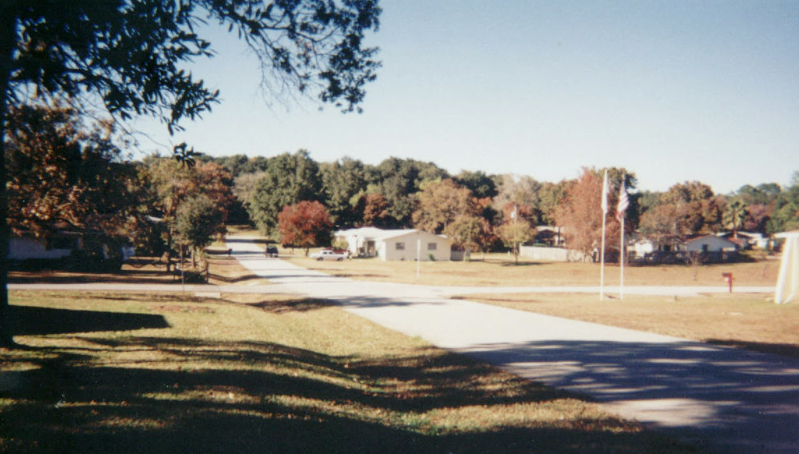 My neighborhood in Citrus County, December 2002