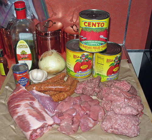 "Italian ""Sunday Gravy"" -- The Ingredients"