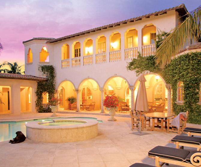 Hacienda-style Home