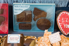 Milk chocolate speeding kit