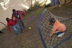Goalie (cotlands_jhb) Tags: poverty africa food house playing london boys gardens liverpool project children manchester football goal community education support aids hiv african south united east orphans teacher foster national shanty cape projects care sick eastern score towns income johannesburg ecd township shacks 2010 malnourished grannys gauteng starving generating centres cotlands turffontein