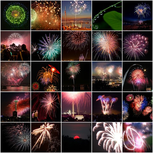 Fireworks montage from drumnwhistles