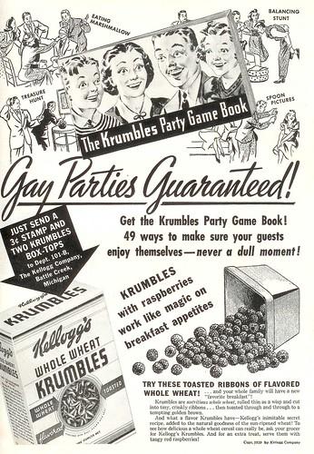 Krumbles Gay Parties