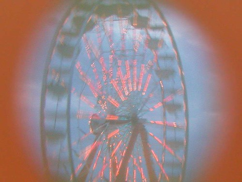 Twilight Ferris Wheel at the Dane County Fair