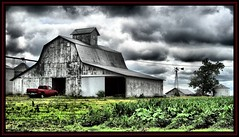The Farm (K2D2vaca) Tags: red windmill barn countryside illinois farm pickup pickuptruck il centralillinois welcomeall abigfave anawesomeshot aplusphoto k2d2vaca