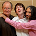 L-RT: JIM BROADBENT, MATTHEW BEARD, ANAND TUCKER WHEN DID YOU LAST SEE YOUR FATHER, PHOTO CALL AT SCOTSMAN HOTEL 23/08/2007