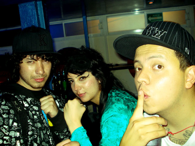 PK, MC PELIGRO & CHOCK