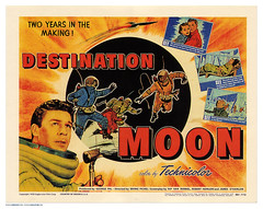 """Destination Moon"" lobby card"