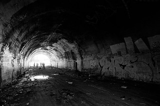 belmont tunnel. los angeles, ca. 2000.
