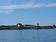 Fishermans Island Light and Keeper's House