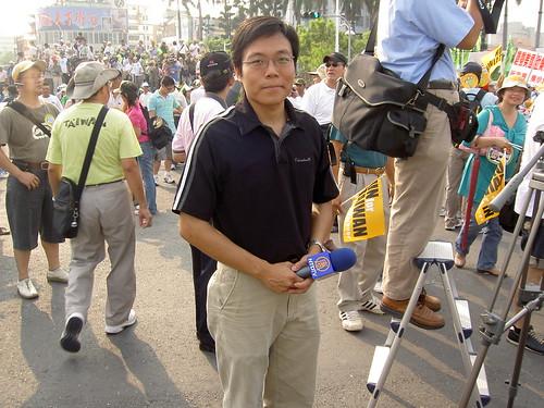 新唐人的記者