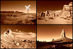 Copper (sandy.redding) Tags: redrockcanyon california monochrome landscape desert copper optikverve tronapinnacles
