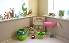 Kitchen (Katey Nicosia) Tags: kitchen vintage ceramic toys deer collection owl