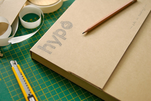 Handmade hypo box for iphoto08 calendar