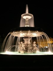 Schlossplatz fountain
